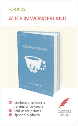 Alice in Wonderland Book for Kids