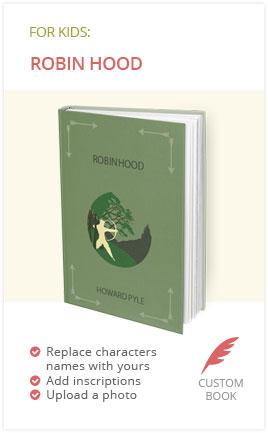 Robin Hood Book for Kids